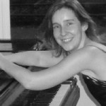 Fran at the piano, Pitshanger Manor
